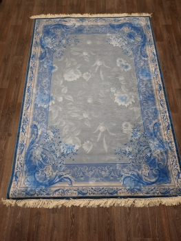 Ковер 11032.102 MELIS - Голубой - Прямоугольник - коллекция Decovilla
