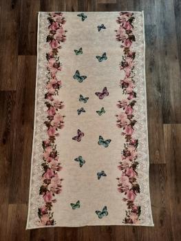 Ковер 17010.102 - Розовый - Прямоугольник - коллекция Decovilla