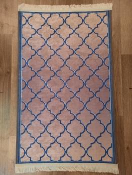 Ковер 21022.102 EMIR - Темно-синий - Прямоугольник - коллекция Decovilla