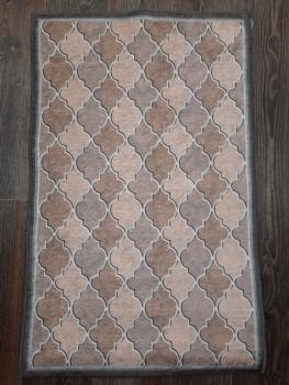 Ковер 21023.101 HANZADE - Светло-коричневый - Прямоугольник - коллекция Decovilla