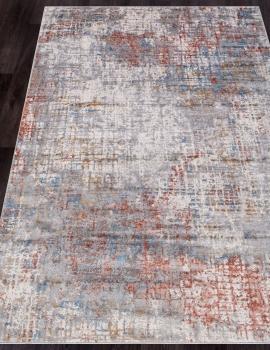 Ковер G512C - WHITE / SALMON - Прямоугольник - коллекция EFES