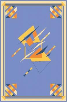Ковер F613N - 60 - Прямоугольник - коллекция Фиеста де Люкс