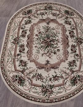 Ковер 5439 - CREAM - Овал - коллекция GAVANA