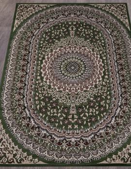 Ковер D504 - GREEN - Прямоугольник - коллекция GAVANA