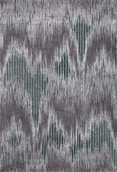Ковер 33382 - 954 GREY / GREEN - Прямоугольник - коллекция GRANADA