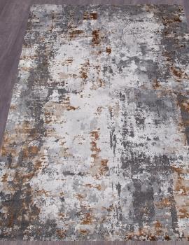 Ковер 23319 - 975 GREY / GOLD - Прямоугольник - коллекция GRAND