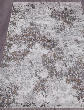 Ковер 23418 - 975 GREY / GOLD - Прямоугольник - коллекция GRAND