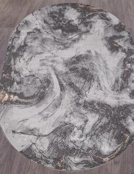 Ковер 33369 - 970 - Овал - коллекция GRAND