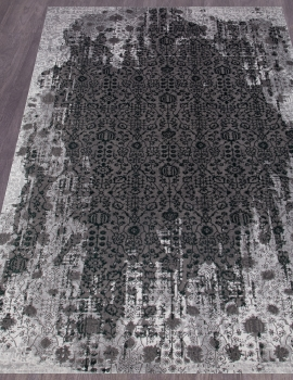 Ковер 33370 - 954 GREY / GREEN - Прямоугольник - коллекция GRAND