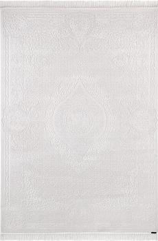 Ковер 7921 - WHITE / WHITE - Прямоугольник - коллекция HUNKAR