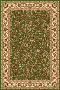 Ковер d155 - GREEN - Прямоугольник - коллекция IZMIR
