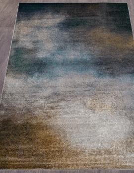 Ковер D816 - GRAY-BLUE - Прямоугольник - коллекция LONDON