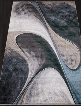 Ковер D825 - GRAY-BLUE - Прямоугольник - коллекция LONDON