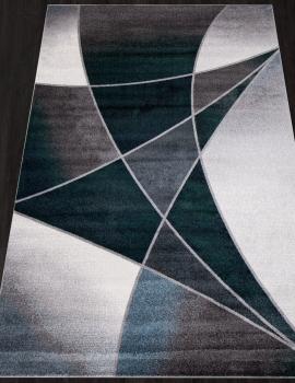 Ковер D832 - GRAY-BLUE - Прямоугольник - коллекция LONDON