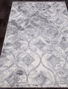 Ковер 5023A - COKEN D.GREY / K.GREY - Прямоугольник - коллекция MARDAN