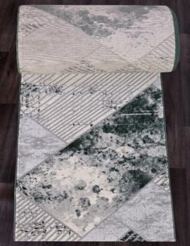 Ковровая дорожка 5024A - COKEN D.GREY / GREEN - коллекция MARDAN