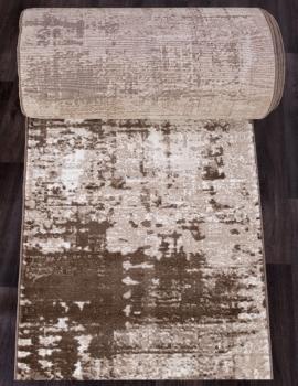Ковровая дорожка 5027A - VIZON COKEN / BROWN - коллекция MARDAN