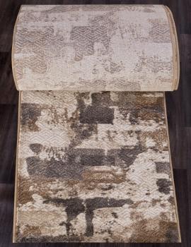 Ковровая дорожка D564 - CREAM-GRAY - коллекция MATRIX