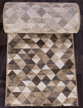 Ковровая дорожка D578 - BEIGE - коллекция MATRIX