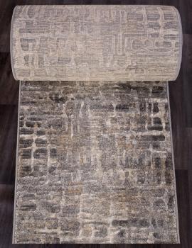 Ковровая дорожка D587 - BEIGE-GRAY - коллекция MATRIX