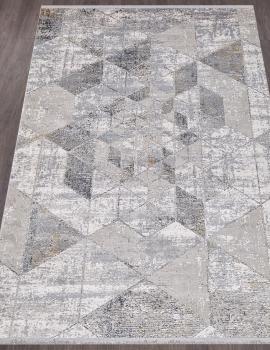 Ковер B096A - CREAM / D.GRAY - Прямоугольник - коллекция MAXELL