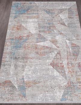 Ковер B463F - TERRA / BURGUNDY - Прямоугольник - коллекция MAXELL