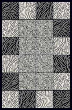 Ковер 8320 - GRAY - Прямоугольник - коллекция MEGA CARVING
