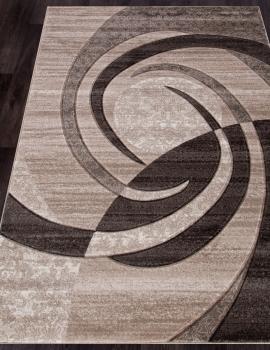 Ковер d264 - BEIGE - Прямоугольник - коллекция MEGA CARVING
