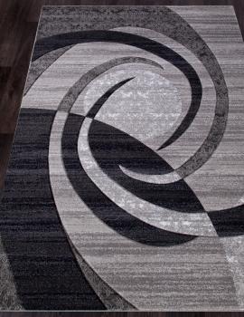 Ковер d264 - GRAY - Прямоугольник - коллекция MEGA CARVING