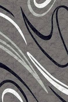 Ковер d265 - GRAY - Прямоугольник - коллекция MEGA CARVING