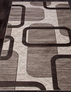 Ковер D465 - BEIGE - Прямоугольник - коллекция MEGA CARVING
