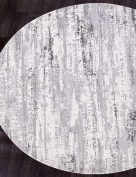 Ковер 9808 - ACIK GRI - Круг - коллекция MODA
