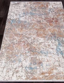 Ковер M283C - CREAM / C.D.GRAY - Прямоугольник - коллекция OLIMPOS