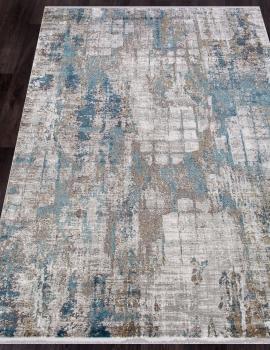 Ковер MT139 - CREAM / BLUE - Прямоугольник - коллекция OLIMPOS
