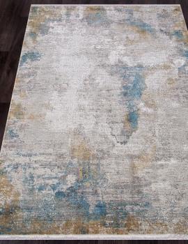 Ковер MT140 - CREAM / BLUE - Прямоугольник - коллекция OLIMPOS