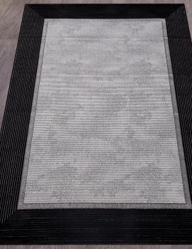 Ковер 04476S - SILVER / SILVER - Прямоугольник - коллекция OMEGA
