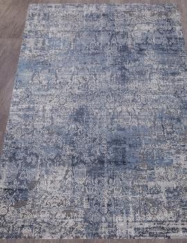 Ковер 0672A - BLUE / GREY - Прямоугольник - коллекция OPERA