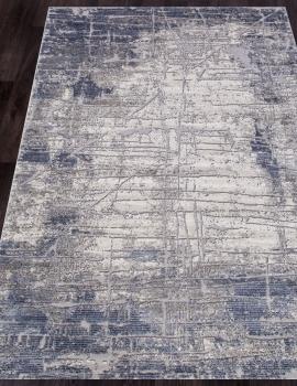 Ковер 5801A - BLUE / GREY - Прямоугольник - коллекция OPERA