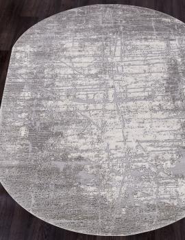 Ковер 5801C - LIGHT GREY - Овал - коллекция OPERA