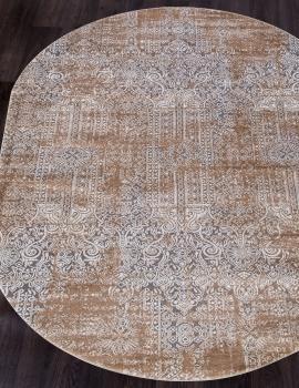 Ковер 5806C - SMOKY GREY - Овал - коллекция OPERA