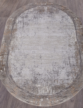 Ковер 5807B - CREAM / GREY - Овал - коллекция OPERA