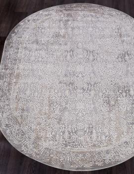 Ковер 5880A - GREY - Овал - коллекция OPERA