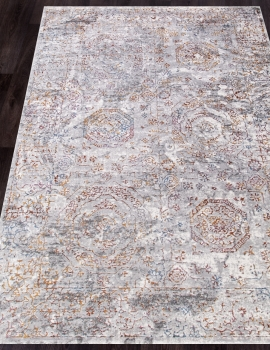 Ковер 7251A - L.GREY / L.GREY - Прямоугольник - коллекция PAMIR