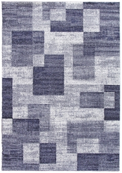 Ковер t635 - BLUE - Прямоугольник - коллекция PLATINUM