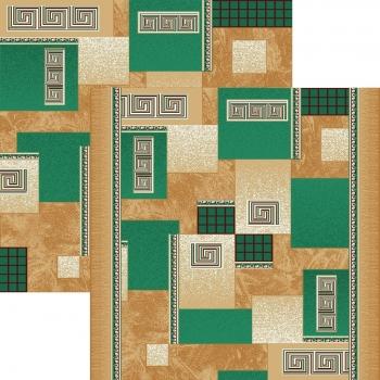 Ковровая дорожка p1286e2r - 36 - коллекция принт 8-ми цветная дорожка
