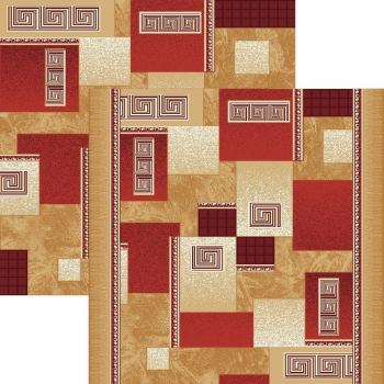 Ковровая дорожка p1286e2r - 45 - коллекция принт 8-ми цветная дорожка