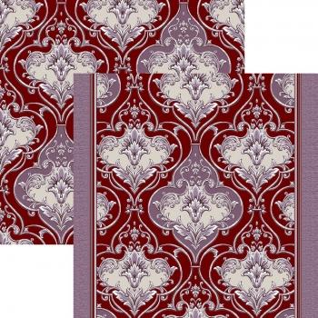 Ковровая дорожка p1303d4p - 85 - коллекция принт 8-ми цветное полотно