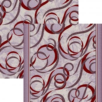 Ковровая дорожка p1304c2p - 85 - коллекция принт 8-ми цветное полотно