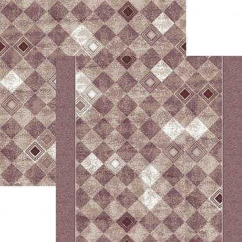 Ковровая дорожка p1322a2p - 93 - коллекция принт 8-ми цветное полотно