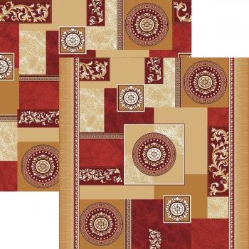 Ковровая дорожка p1518a2p - 45 - коллекция принт 8-ми цветное полотно